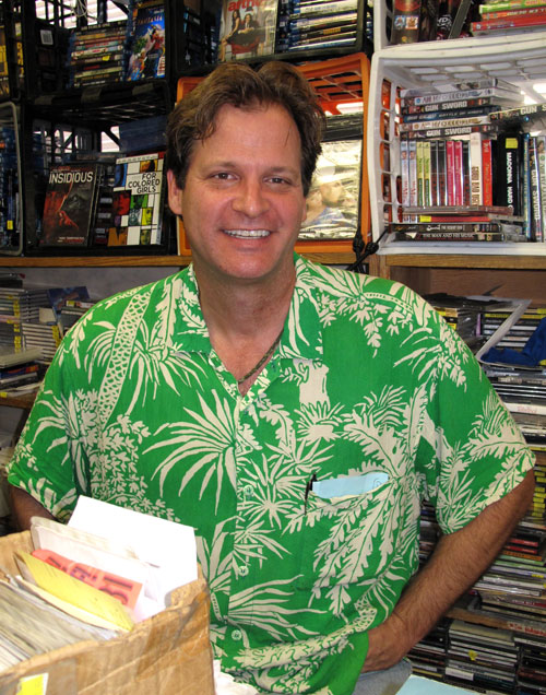 Rainbow Books and Records owner Tom Farley