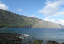 Rainbow in Kalaupapa, Molokai