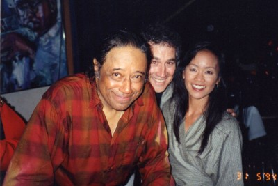 Horace Silver with HeidiChang and Pete Fallico at Yoshi's in Oakland. 1994.