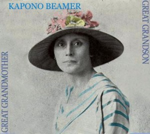 Kapono Beamer Great Grandmother Great Grandson